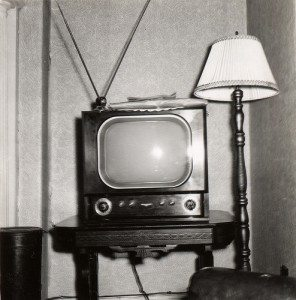 B&W TV CC photo credit Paul W