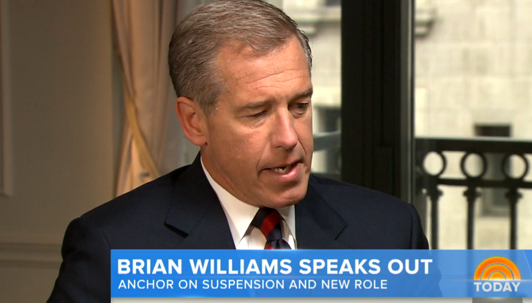 NBC's Brian Williams decision: Not good enough